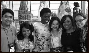 Fellows with Delores Morton
