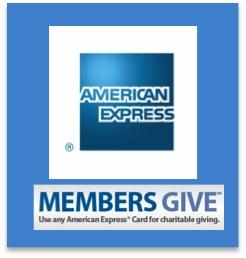 AMEX Members Give