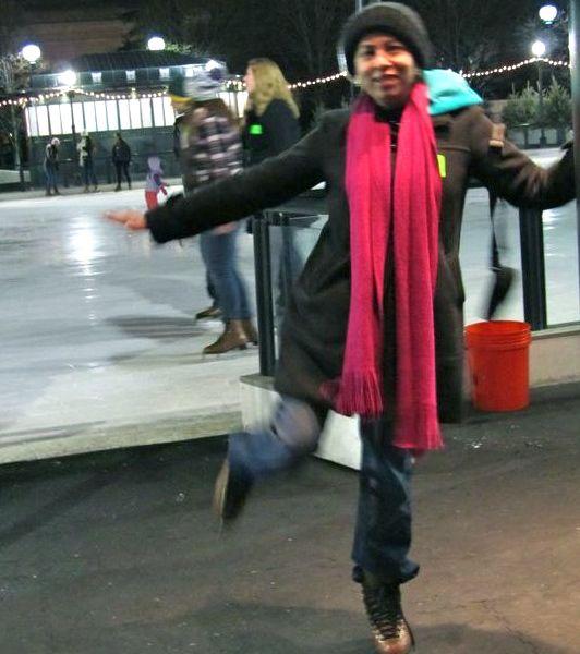 Shamila skating