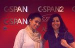 Fellows Mirette & May at C-SPAN