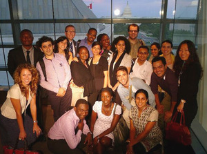 Class 7_Orientation_group at newseum