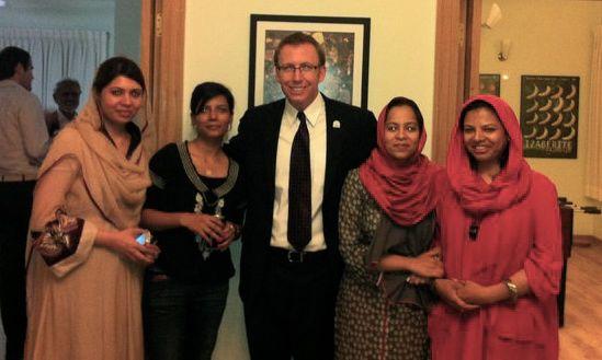 Pakistani Fellows and Scott Beale