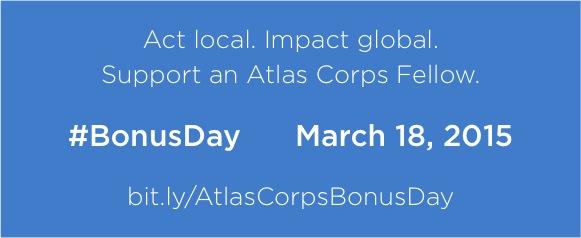 bit.ly/AtlasCorpsBonusDay